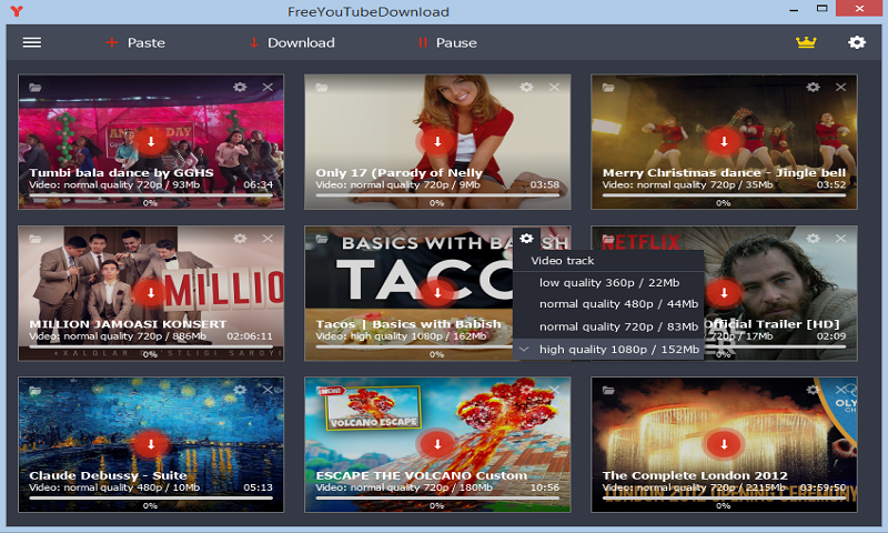 Free YouTube Downloader 3.2.0.1224